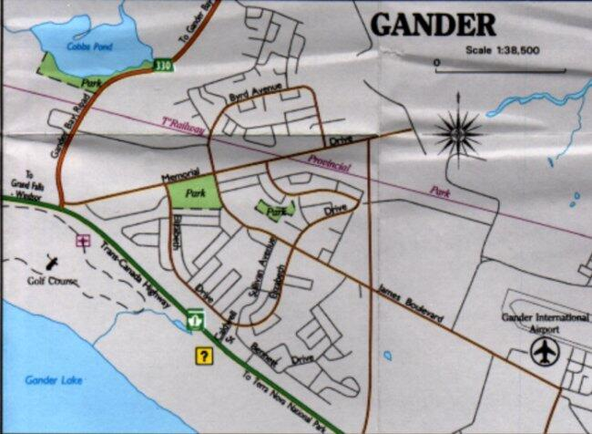 gander nf travel information