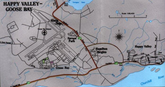 Goose Bay Labrador Travel Information