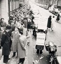 1956 hungarian uprising as indicated - Bureau immigration canada montreal ...